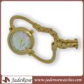 Charme relógio de aço inoxidável de quartzo senhora