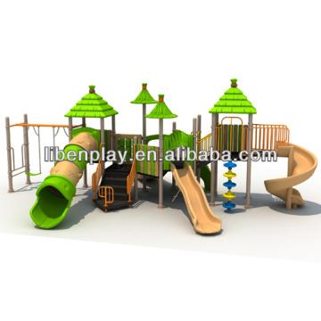 Im Freien Spielplatz Stroh Haus Serie LE.ST.005