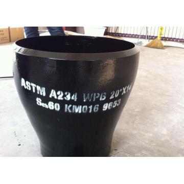 Redutor de tubos tipo concêntrico ASTM A234WPB