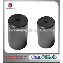 AlNiCo Магнитный цилиндр Стальной горшок (внутренняя резьба)