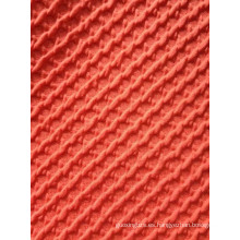 Tela de tejido de punto jaquard de capa gruesa de aire