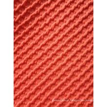 Tecido grosso de jaquard de malha com camada de ar