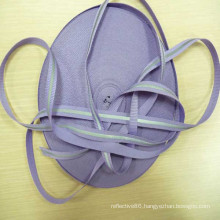 high visibility nylon reflective ribbon webbing for garments