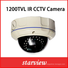 1200tvl IR Cámara de seguridad de la bóveda del CCTV del IR al Vandalproof (D14)