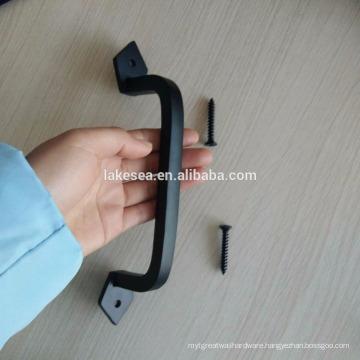 Designer wooden door handle interior door hardware