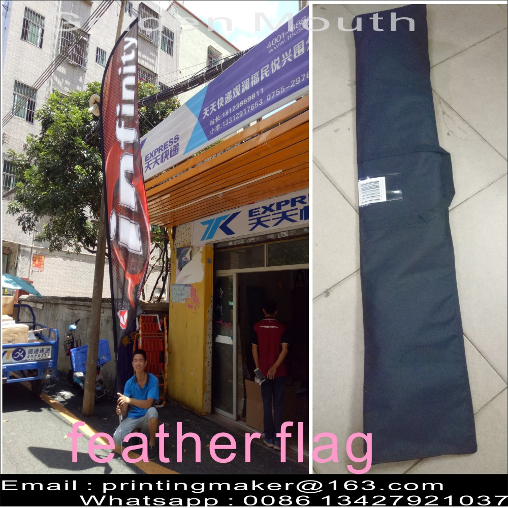 Blade Flags With Carry Bag