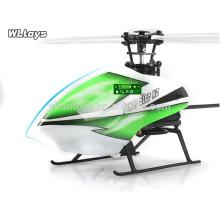 Nova chegada! WL V988 2.4G 4CH Único helicóptero da lâmina RC, helicóptero rc