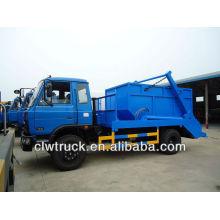 Dongfeng 145 caminhão de lixo do recipiente
