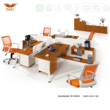 Fashion Wooden Top Office 4 Person Seats Modular Workstation (H30-0232)