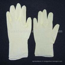 gant en latex sans poudre