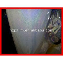 Película holográfica bopet transparente