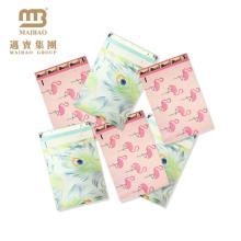 Custom Designer Heart Printing 10X13 Boutique Expédition Emballage Enveloppe Rose Mailing Bags