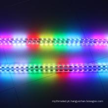 O carro abundante do divertimento 3D da barra da vara do diodo emissor de luz de 12v UCS1903 180pcs SMD 5050 RGB conduziu a luz do tubo