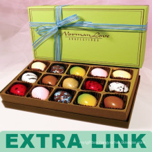 Extra Link Spot UV Paper Cardboard Chocolate Packaging Box