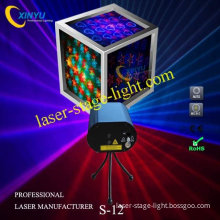 Disco,party ,clubs Mini Sound Activated Laser Effect Lights Rb 6in 1 80mw S-12