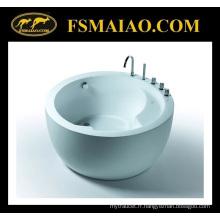 Morden baignoire acrylique circulaire autoportante (BA-8506C)
