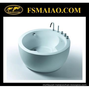 Morden Freestanding Circular Acrylic Soaking Bathtub (BA-8506C)