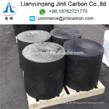 Los cilindros de la goma del electrodo del carbono del uso del horno del arco del precio barato de China / los cilindros de la goma del electrodo de Soderberg