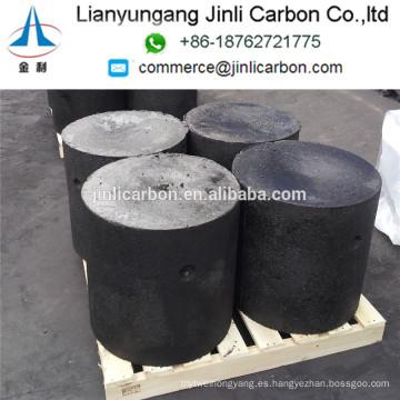 Cilindros de la goma del electrodo de carbono de la venta caliente / cilindros de la goma del electrodo de Soderberg / pasta del electrodo a Irán Egipto Arabia Saudita