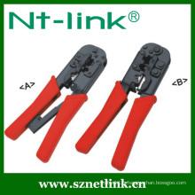 Outils à sertir en raquette pour 4p + 6p + 8P
