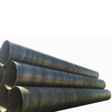 Spiral steel pipe line