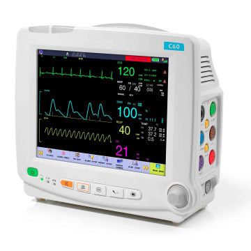 Neonatale Patientenmonitor Neugeborenen Säugling Nicu Vitalparameter-Monitor Apnoe Touchscreenmonitor FDA genehmigt (SC-C60)