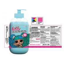 Custom Sticker Plastic Bottle Cosmetic Label Printing