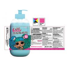 Impression d'étiquettes cosmétiques de bouteille en plastique autocollant personnalisé