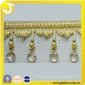 Beaded Curtain Tassel Fringe and Trims,High Quality Curtain Accessory Home Textile