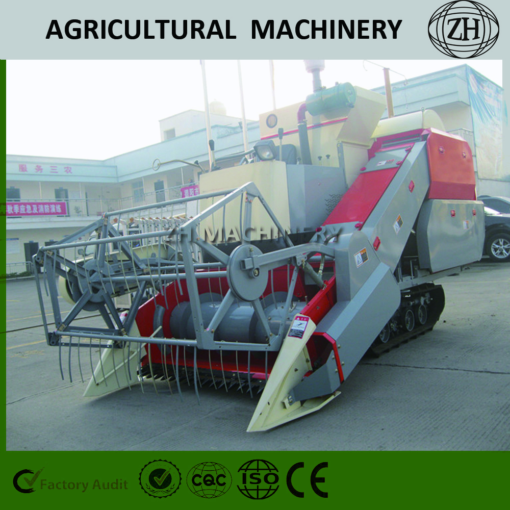 Cheap Cutting Wheat Harvester for Paddy Field