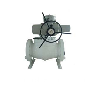 Top Entry Ball Valve Electric Operation
