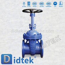 Didtek DIN Carbon Steel Flanged DN200 Gate Valve