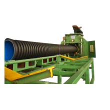 Экструдер для производства двустенных гофрированных труб из полиэтилена
