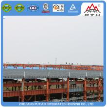 Construction en acier préfabriqué certifiée CE & BV et TUV