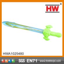 Высокое качество 38CM Красочный мыльный пузырь водяной пузырь меч