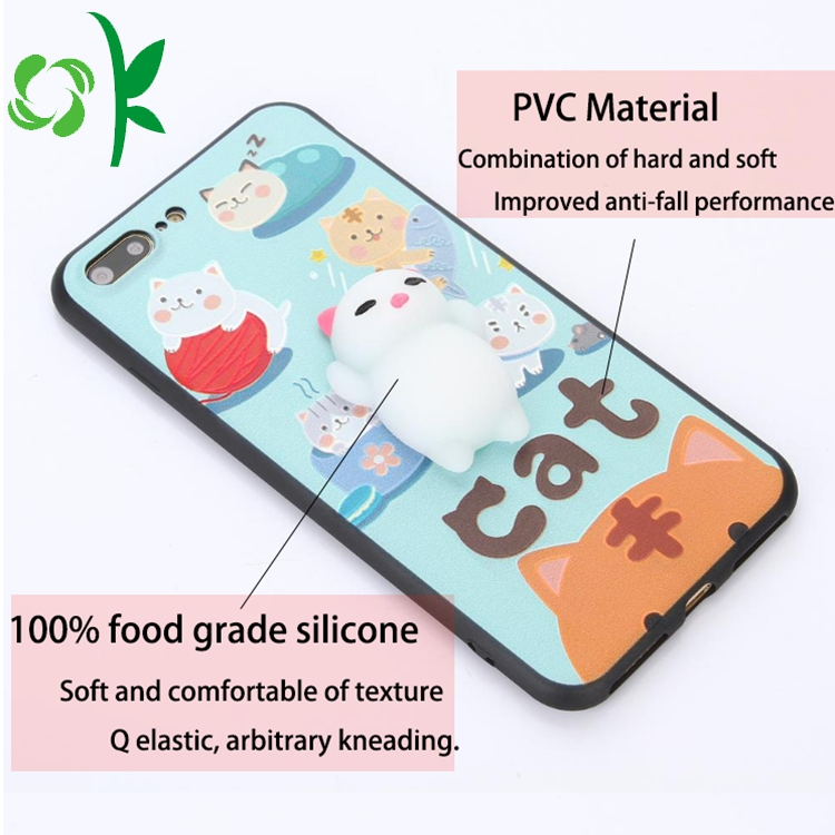 Silicone Marble Phone Case