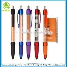 Best-seller barato publicidade banner caneta