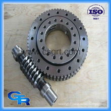 worm drive slewing ring