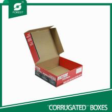 O costume de alta qualidade imprimiu a embalagem de papel de vegetais para caixas de envio da caixa