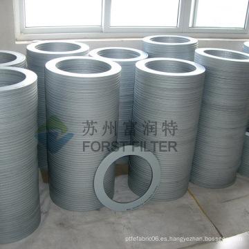 FORST Industrail Tapa del cartucho de filtro galvanizado