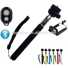 Selfie stick with cable, gros selfie stick, monopod selfie stick