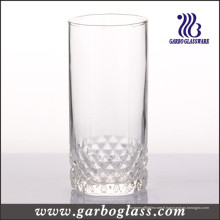 Vasque en verre de 325 ml avec fond gravé