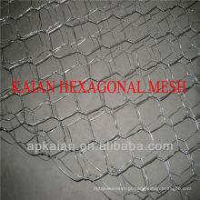 Hebei anping KAIAN gavetas de malha hexagonal de dupla torção