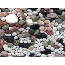 Polished River Stones for Paving Roads