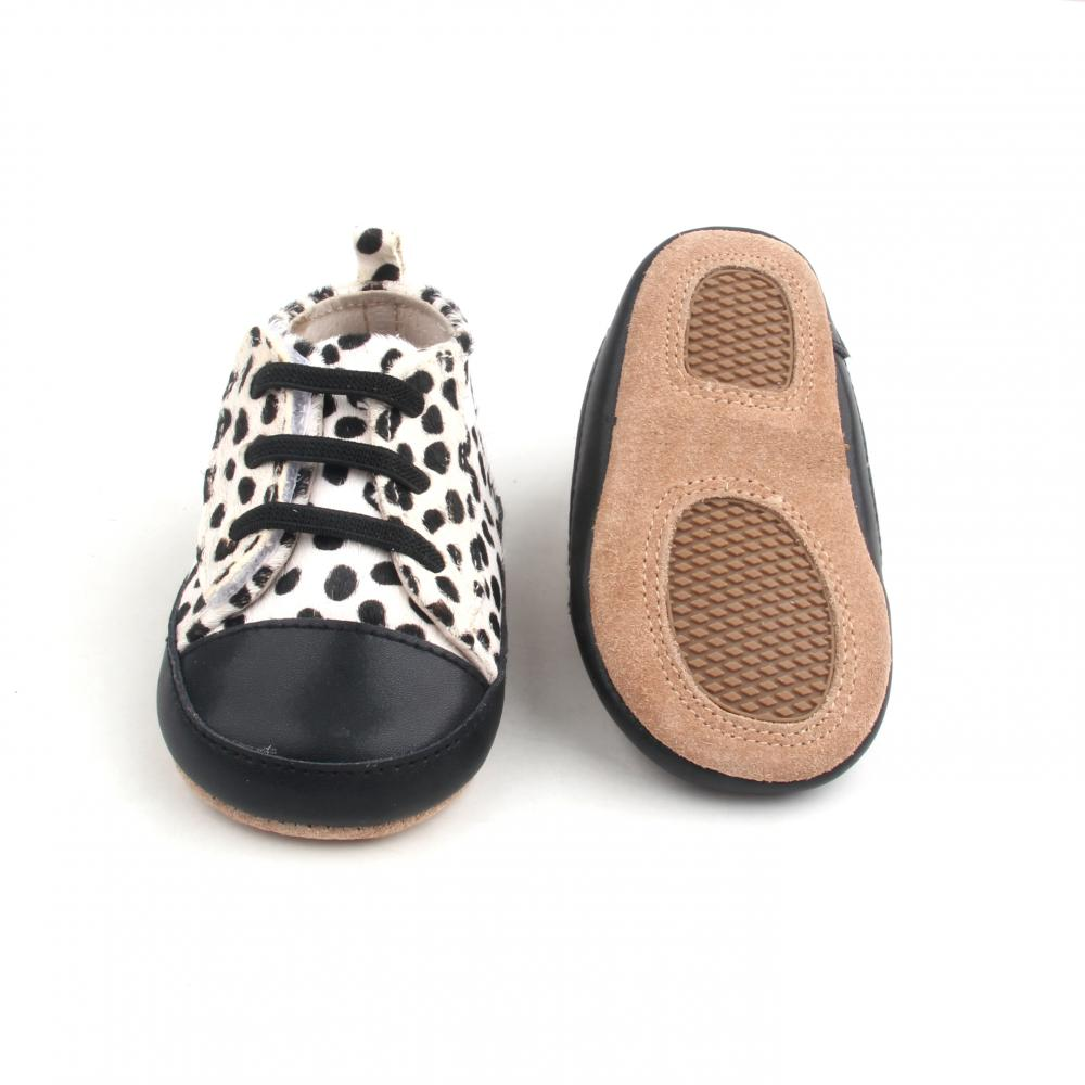 Cute Cow Spot Mo-hair Upper Infant Casual Shoes