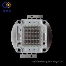 горячие продажи 50 Вт 395nm УФ светодиодный cob чип для 3D-печати