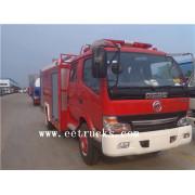 Dongfeng 5 toneladas de lucha contra incendios camiones