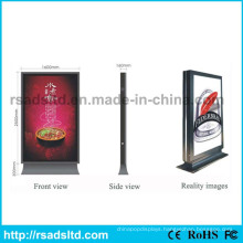 Free Standing Scrolling Billboard Light Box