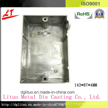 Quincaillerie Aluminium Alloy Die Casting LED Lighting and Machinery Device Switch Cover