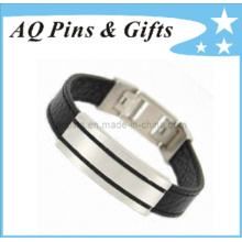 ID Bracelet with Stainless Steel Buckle